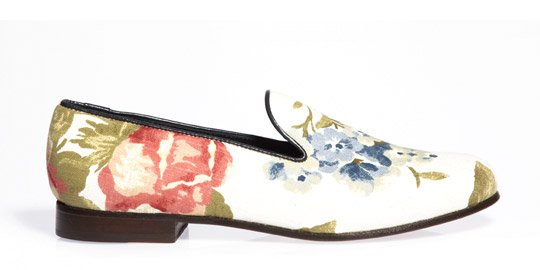 CB scarpe italiane flower limited edition
